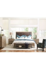 Kincaid Kincaid Modern Forge Longview Queen Leather Complete Bed (944-313P)