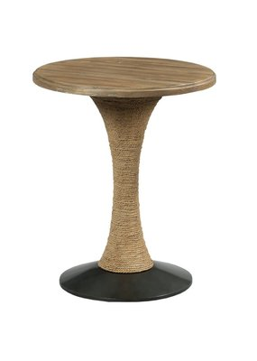 Kincaid Modern Forge Round End Table