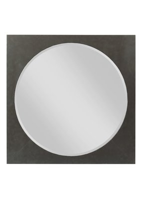 Kincaid Modern Forge Square Metal Mirror