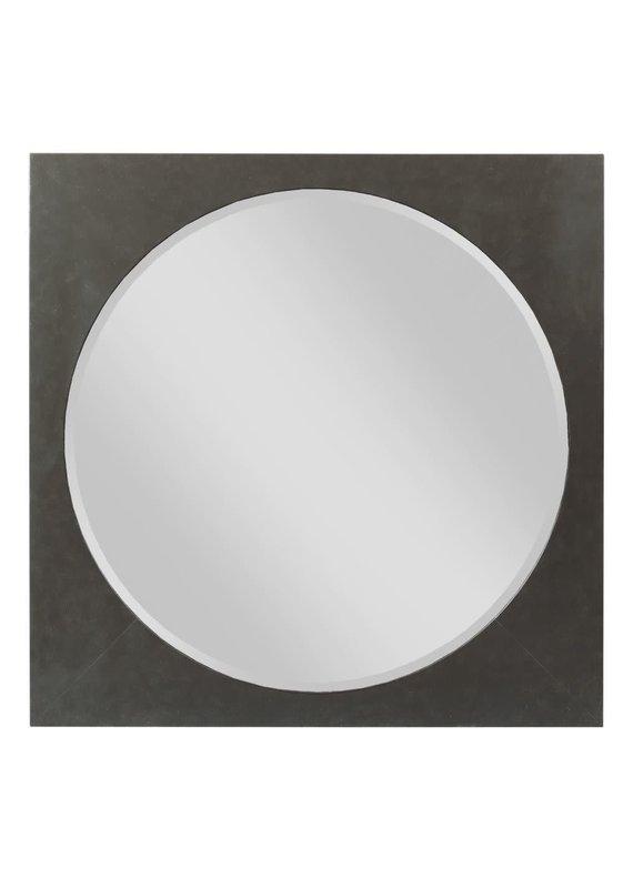 Kincaid Modern Forge Square Metal Mirror