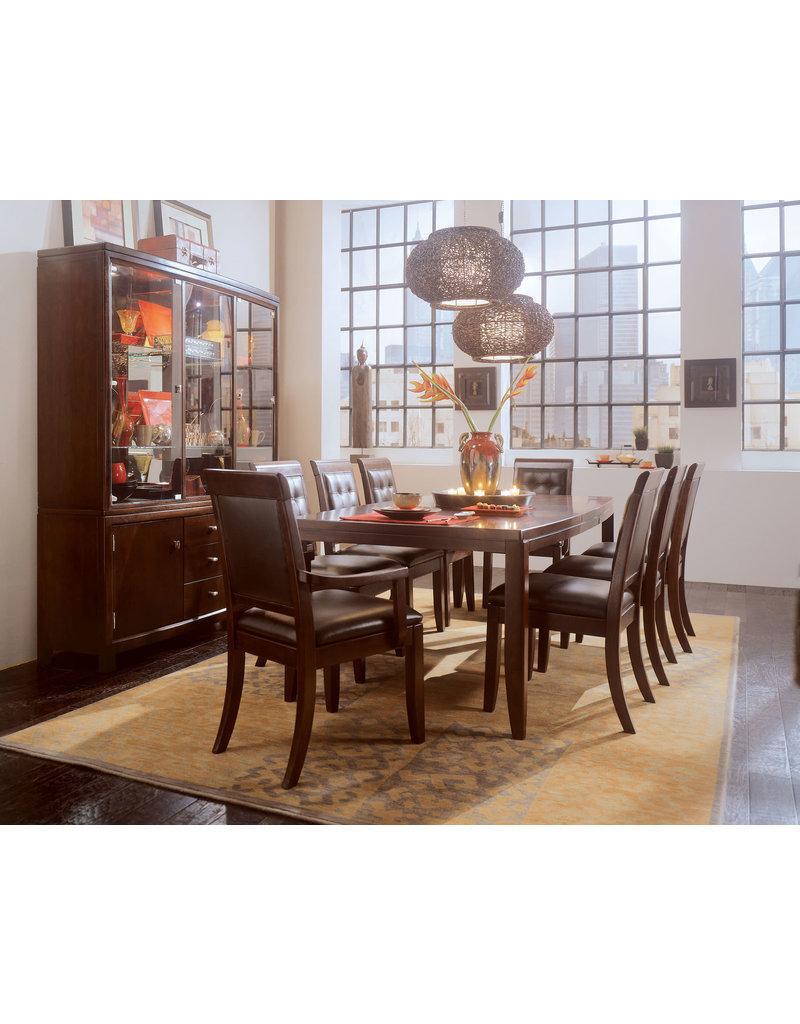 American Drew American Drew Tribecca Leather Back Arm Chair (912-623)