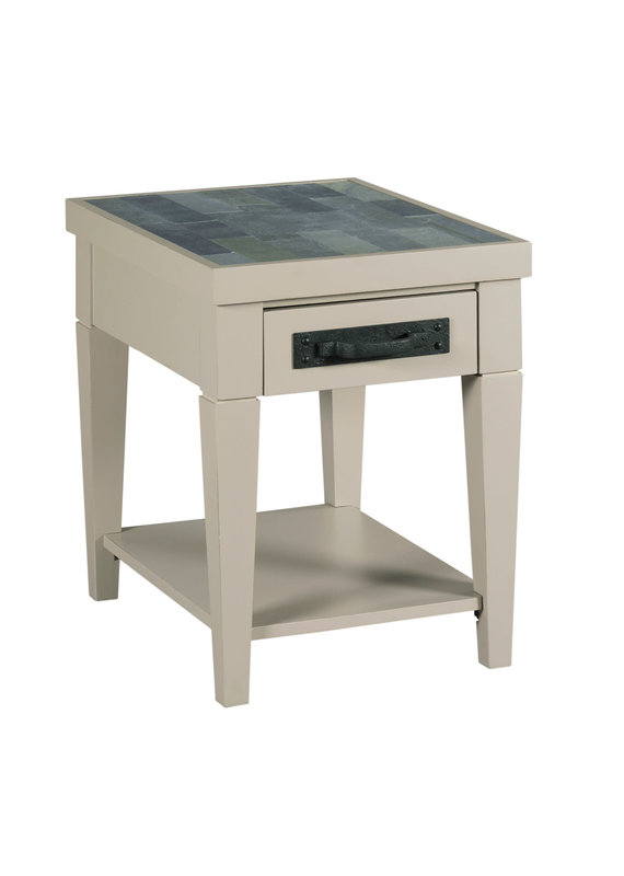 Hammary Junction Charging Chairside Table