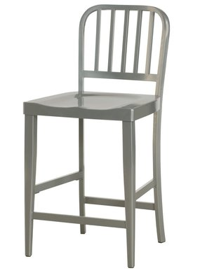 Hammary Hidden Treasures Gray Counter Stool