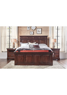 A-America Kalispell Queen Complete Storage Bed