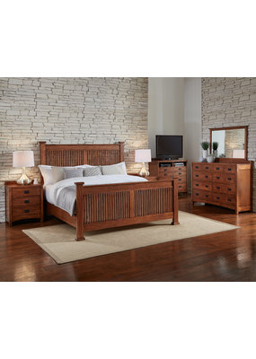 Mission Hill Slat King Headboard