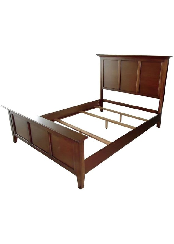 A-America Westlake King Complete Panel Bed (Brown)