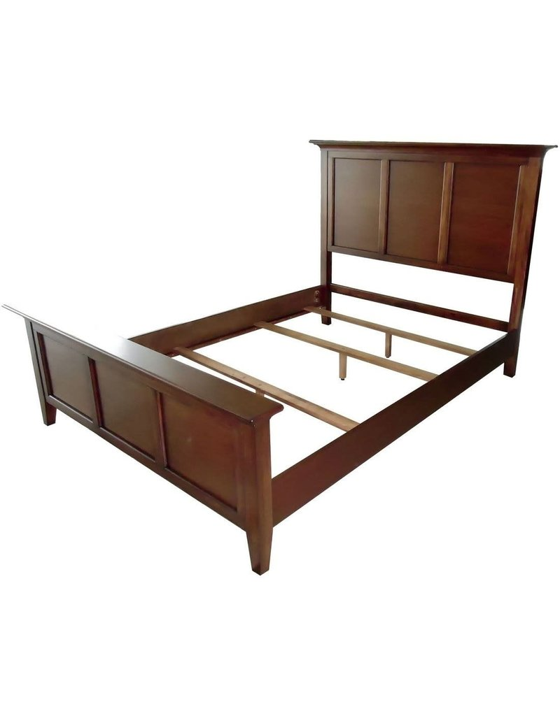 A-America A-America Westlake King Complete Panel Bed in Brown (WSL-CB-5-13-0)