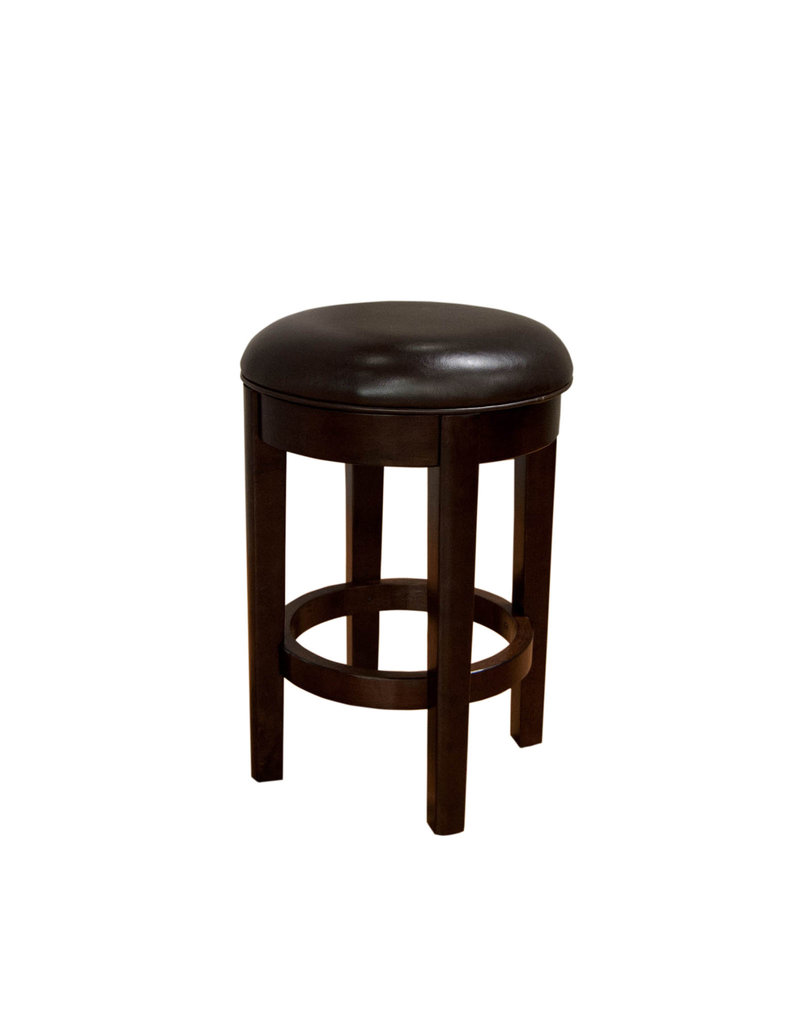 A-America A-America Parson Chairs Swivel Counter Stool in Brown (24'') (PRSES3540)