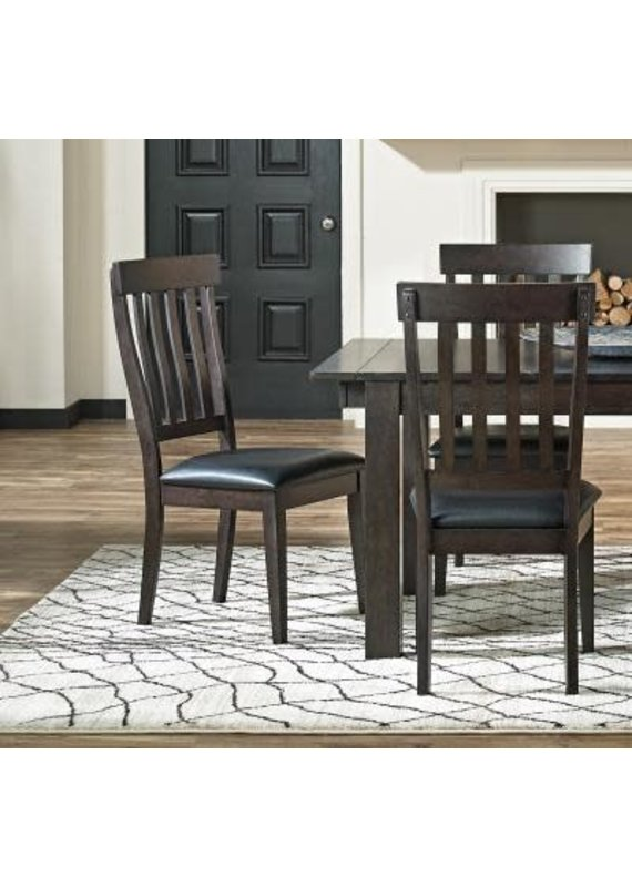 A-America Mariposa Slat Back Side Chair (Warm Gray)
