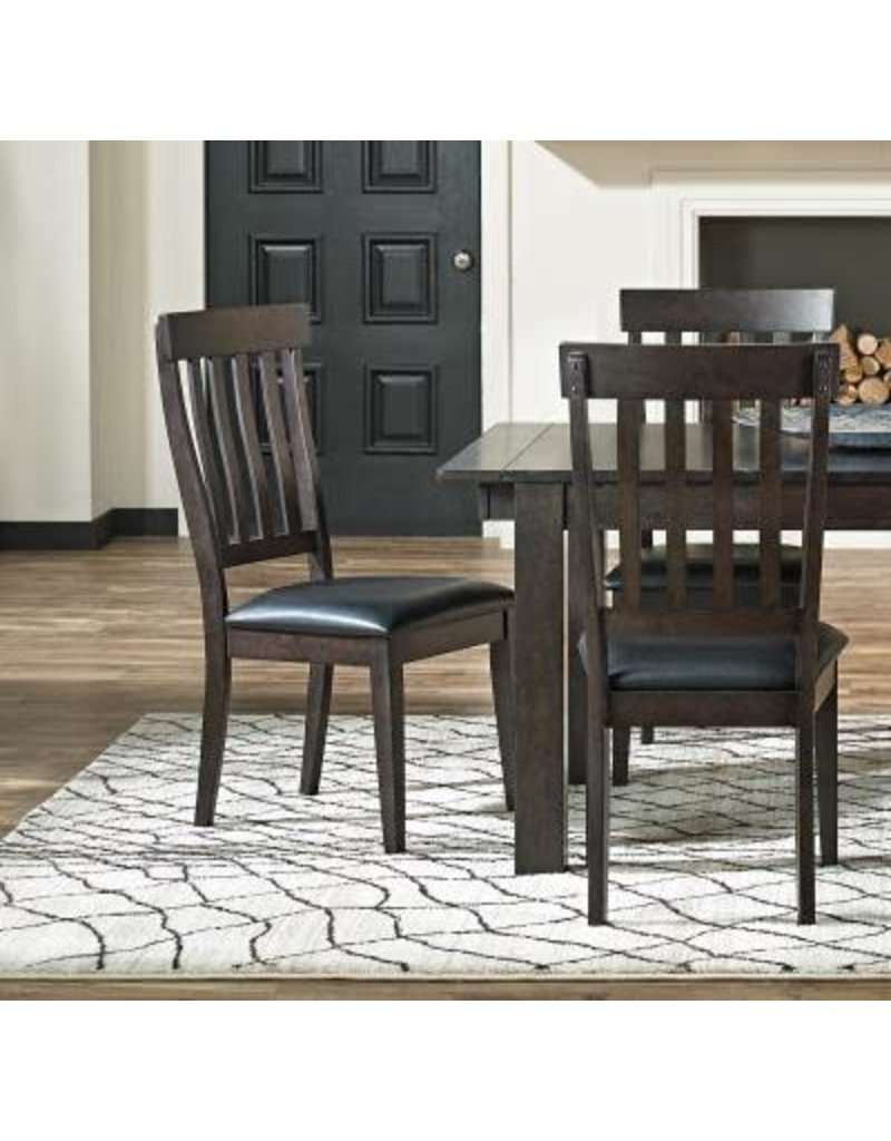 A-America A-America Mariposa Slat Back Side Chair in Warm Gray (MRP-WG-2-65-K)