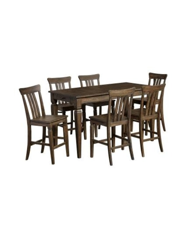 A-America Kingston Gathering Height Table w/ 2 Drawers