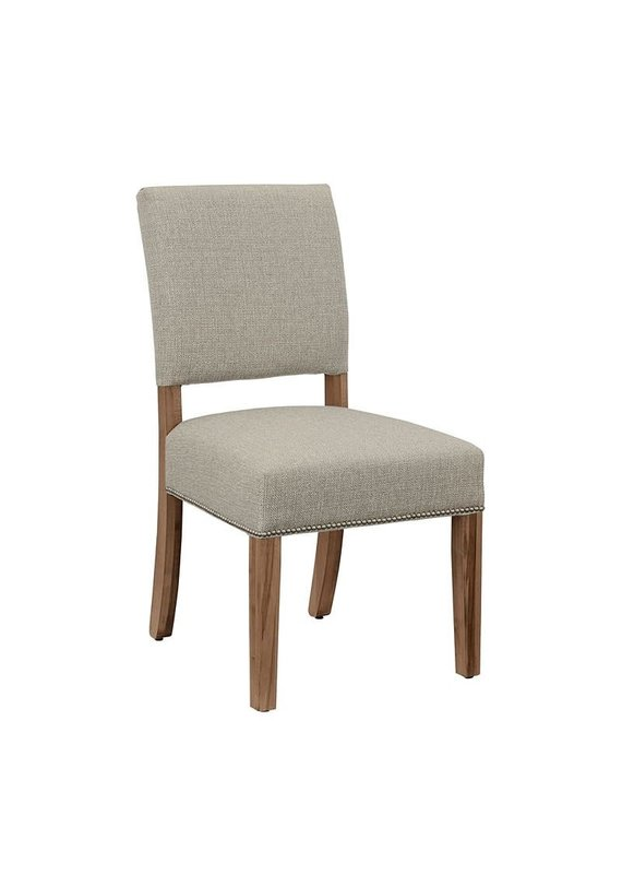 Simply Dining Upholstered Side Chair (Natural Maple)