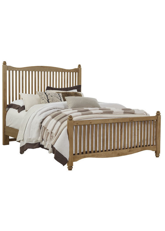 American Maple Queen Slat Headboard (Natural Maple)