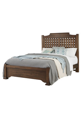 Vaughan Bassett Grayson Manor Queen Poster Headboard (Latte)