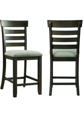Elements Colorado Counter Side Chair With Cushion Seat