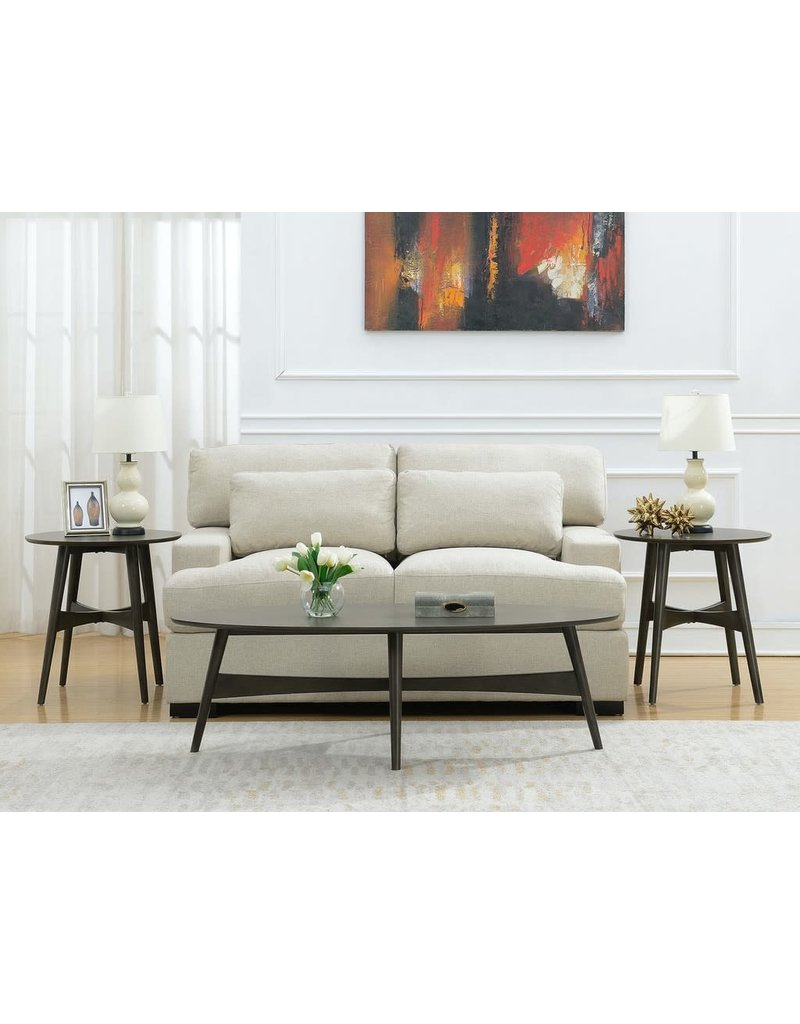 Elements Elements Edie Three Pack Occasional Set in Grey (CED300TPKE)
