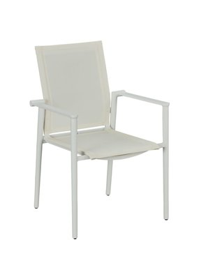 Lane Venture Tyler Dining Arm Chair (Blanc)