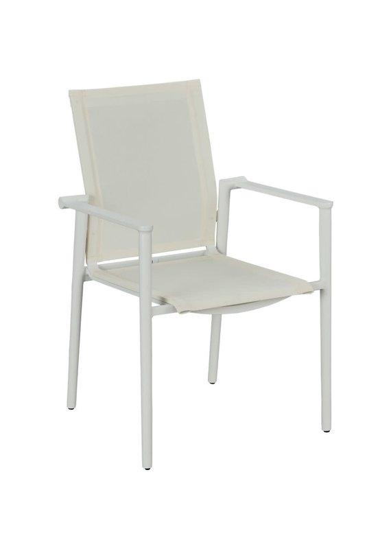 Lane Venture Tyler Dining Arm Chair (Blanc)