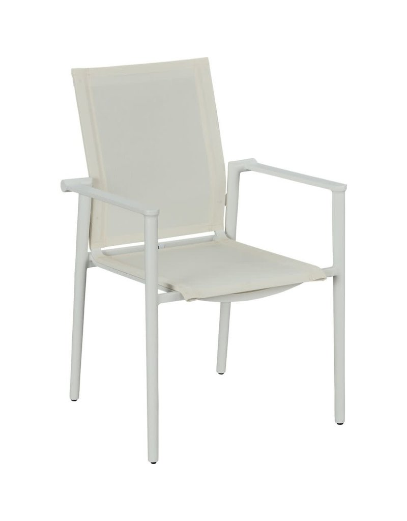 Lane Venture Lane Venture Essentials Dining Tyler Dining Arm Chair in Blanc (101-10)