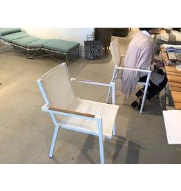 Lane Venture James Dining Arm Chair (Blanc)