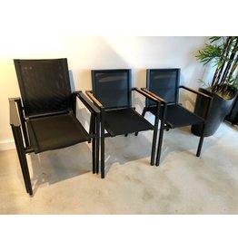 Lane Venture James Dining Arm Chair (Noir)