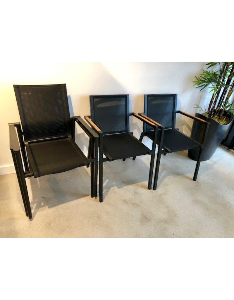 Lane Venture Lane Venture Essentials Dining James Dining Arm Chair in Noir (101-30)
