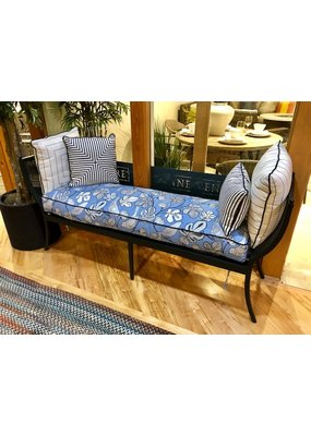 Lane Venture Winterthur Estate Bench w/ 4 Pillows