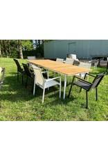 Lane Venture Lane Venture Essentials Dining Rectangular Dining Table w/ Teak Top (9101-60)