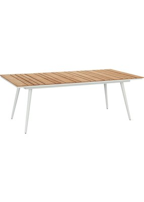 Lane Venture Essentials Dining Rectangular Dining Table w/ Teak Top