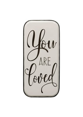 You are Loved Metal Wall Panel