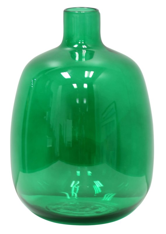Spanish Glass Jug in Disco Green