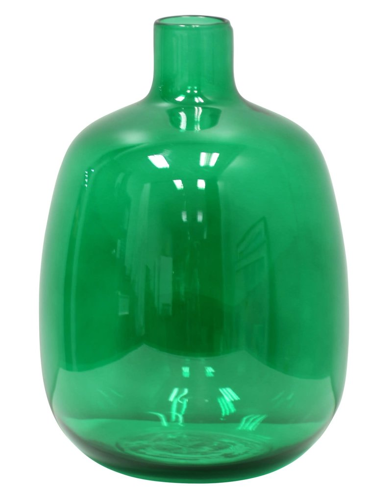 StyleCraft Home Collection - Spanish Glass Jug in Disco Green (AS10109)
