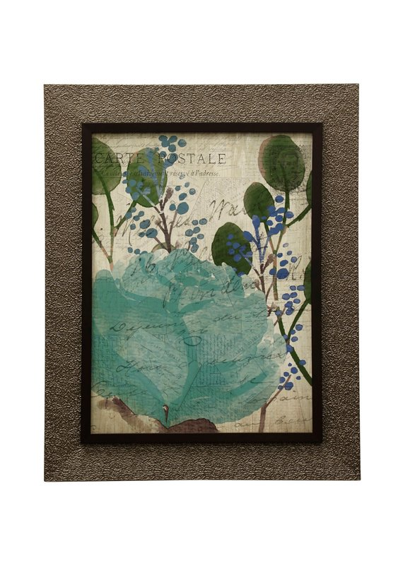 Succulents II -  Framed Print Under Glass