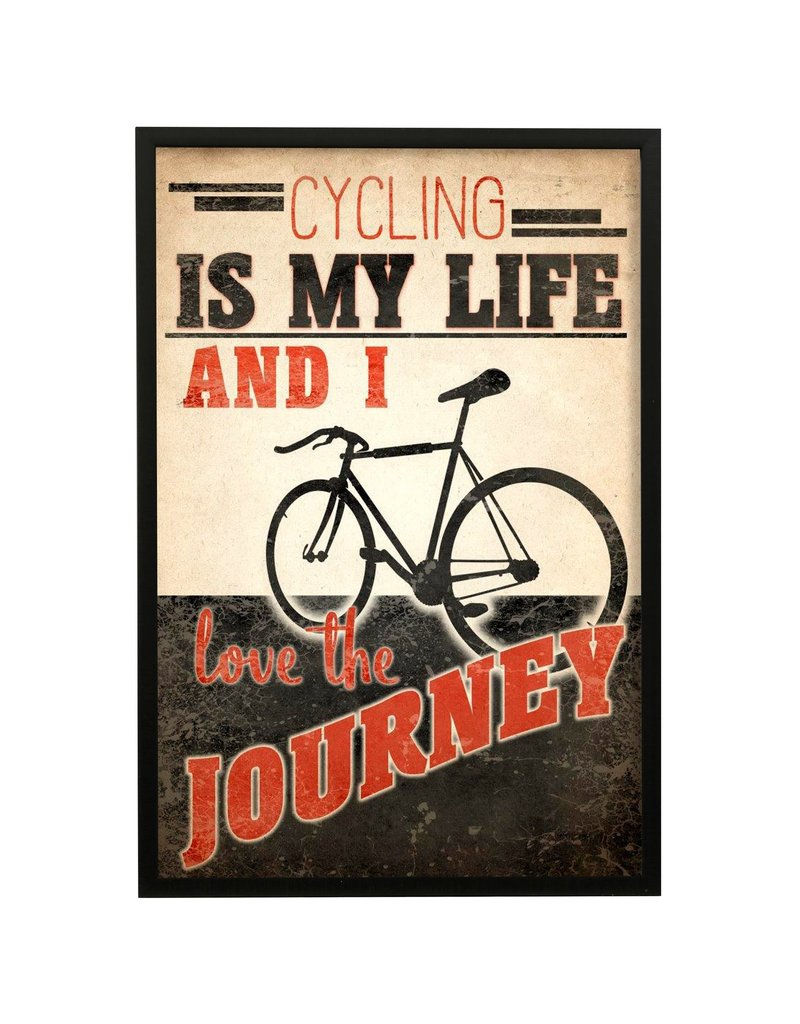 StyleCraft Home Collection - Cycling Is My Life Framed Print (WP30009)