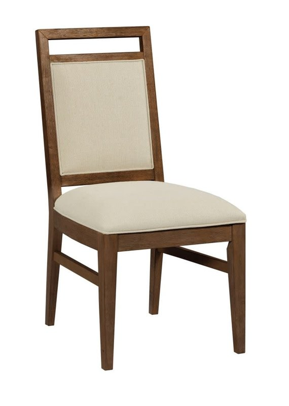 Kincaid The Nook Upholstered Chair in Hewned Maple