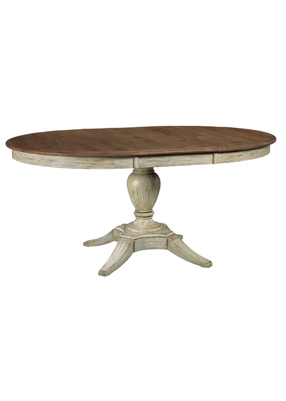 Kincaid Milford Round Dining Table (Cornsilk)