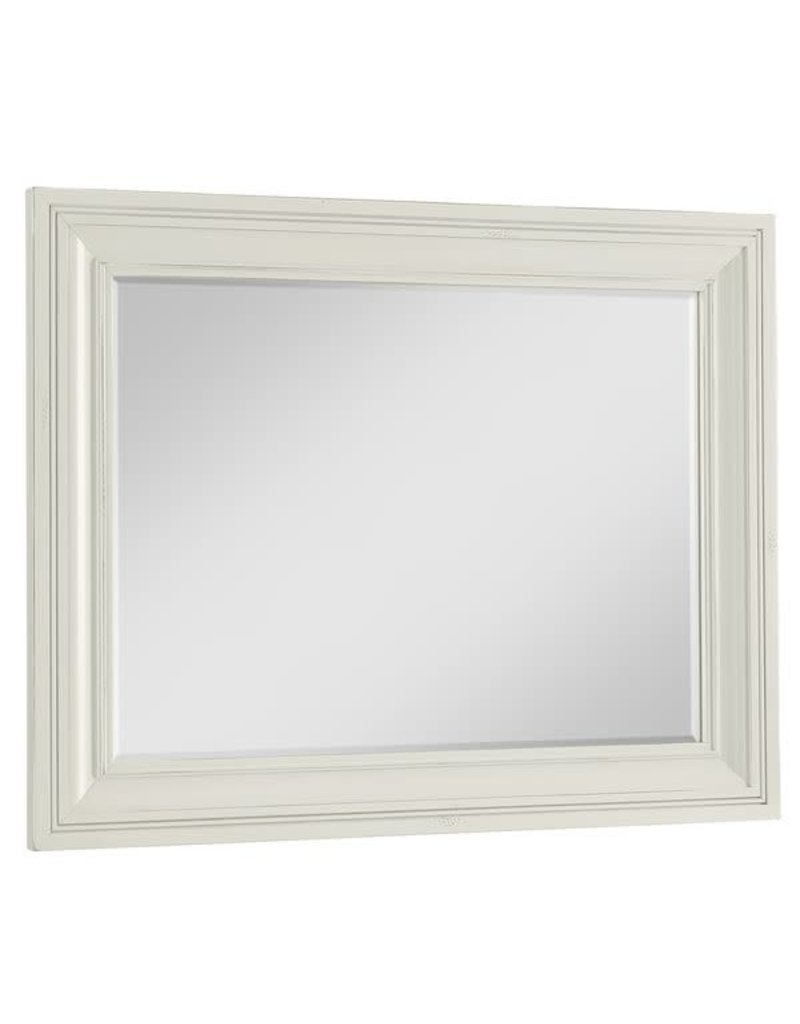 Vaughan Bassett Vaughan Bassett LM Co Scotsman Wide Landscape Mirror in Cream (184-446)