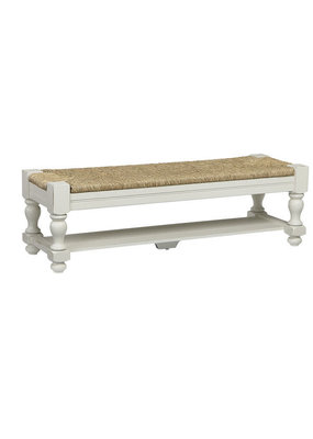 Vaughan Bassett Scotsman Seagrass Bench (Cream)