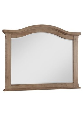 Vaughan Bassett Scotsman Tall Arch Mirror  (Natural Maple)