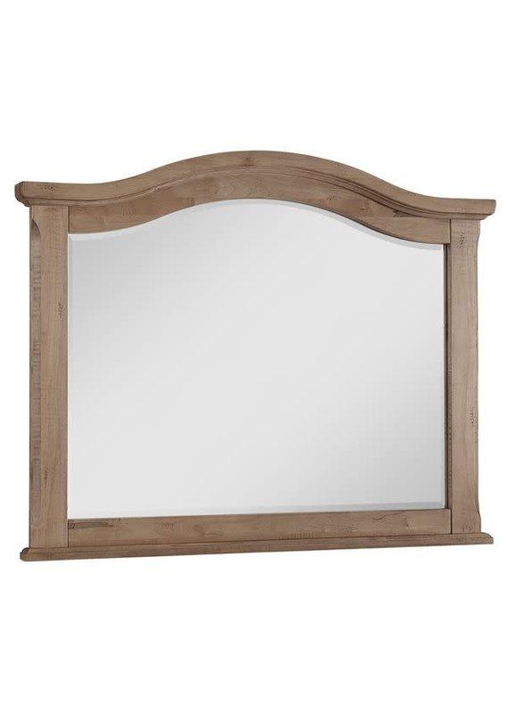 Vaughan Bassett Scotsman Tall Arch Mirror  (Natural Maple)