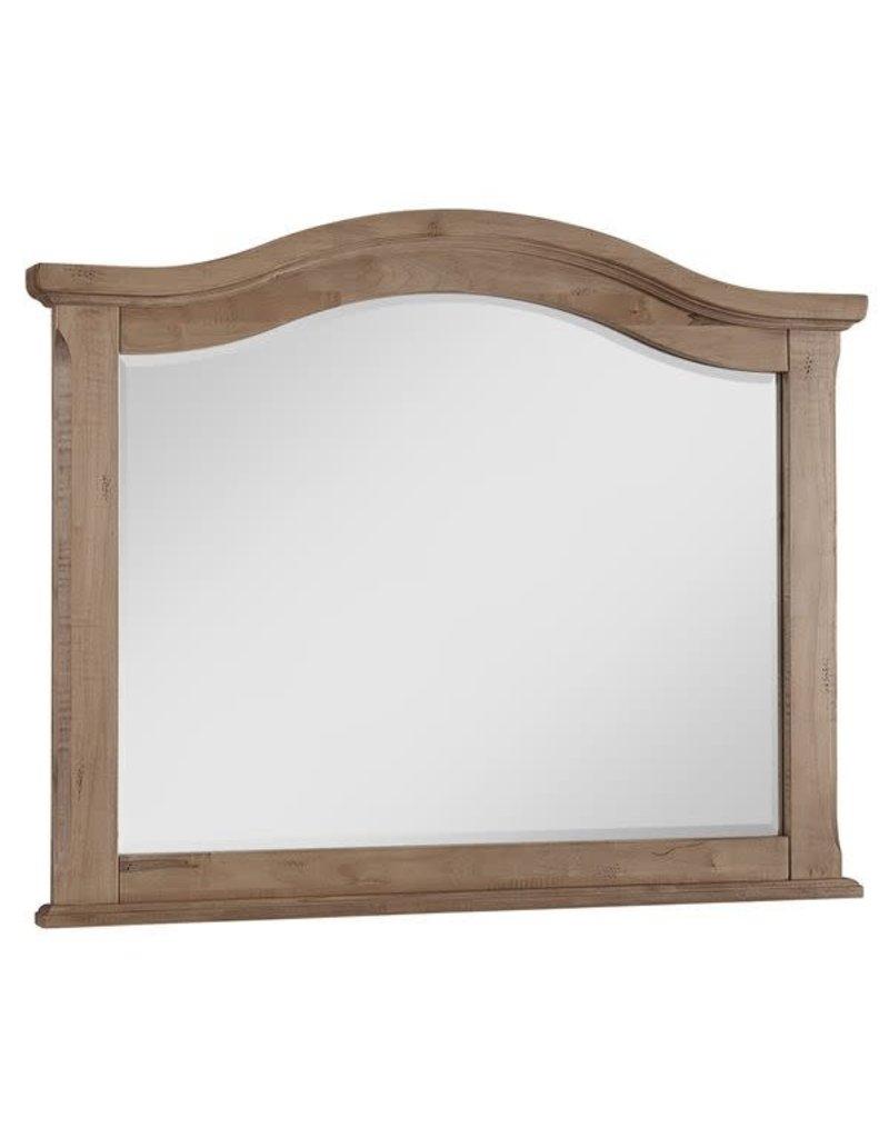Vaughan Bassett Vaughan Bassett LM Co. Scotsman Tall Arch Mirror in Natural Maple (182-447)