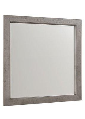 Vaughan Bassett Touche Landscape Mirror (Arctic Grey)