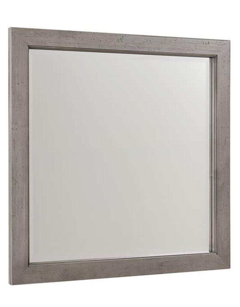 Vaughan Bassett Vaughan Bassett Touche Landscape Mirror in Arctic Grey (261-446)