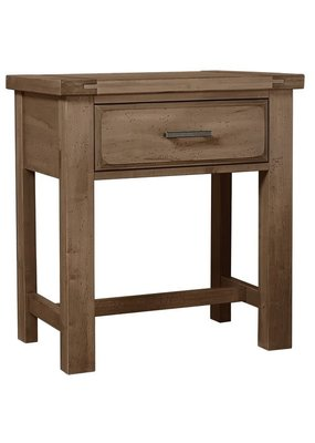 Vaughan Bassett Chestnut Creek 1 Drawer Nightstand (Fawn-Natural)