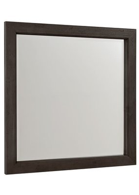 Vaughan Bassett Touche Landscape Mirror (Peppercorn-Black)