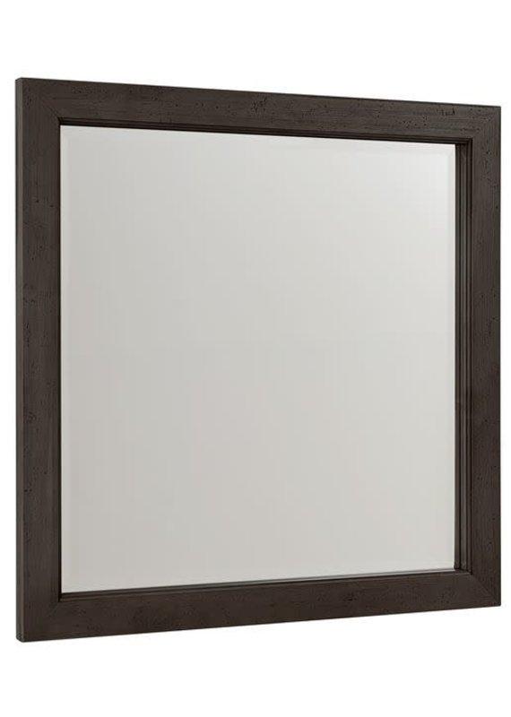Vaughan Bassett Touche Landscape Mirror (Peppercorn-Black)