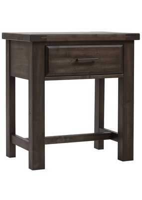 Vaughan Bassett Chestnut Creek 1 Drawer Nightstand (Truffle-Dark)