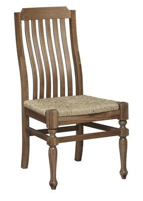 Vaughan Bassett Scotsman Seagrass Seat Side Chair (Natural Maple)