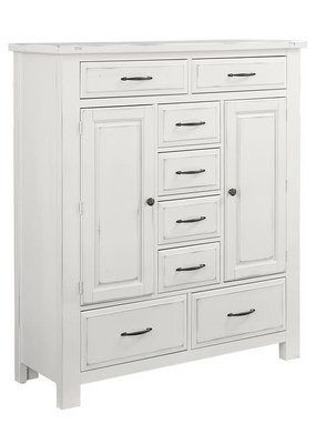 Vaughan Bassett Maple Road Sweater Chest (Chalky White)