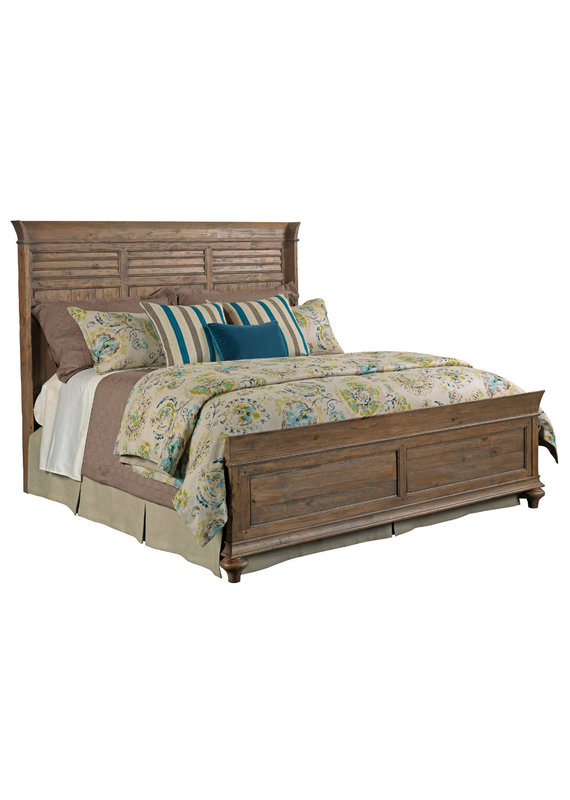 Kincaid Weatherford  Shelter King Headboard (Heather)